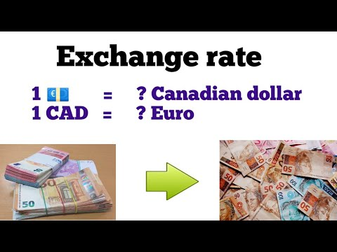Euro To Canadian Dollar Exchange Rate