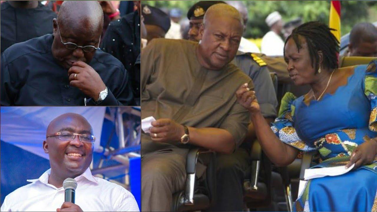 Mahama Shakes Ghana as He Chooses Female as Vice Prez to face Bawumia..