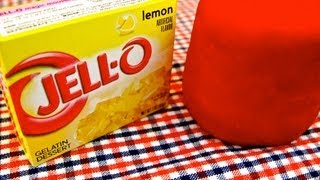 Jello Play-Dough!