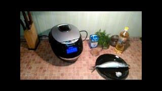 Домашние видео рецепты - скумбрия с чесночным соусом в мультиварке