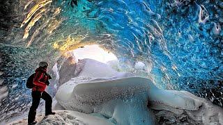 Волшебная пещера исландии. Царство снежной королевы