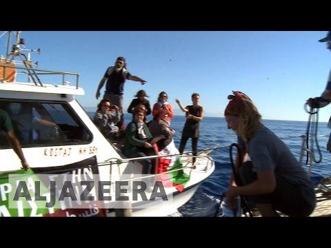 Israeli navy to intercept Gaza-bound female flotilla