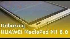 HUAWEI MediaPad M1 8.0 Unboxing | Deutsch