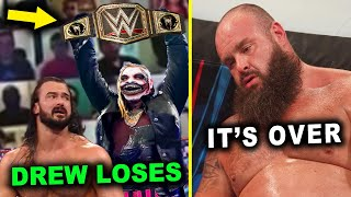 Drew McIntyre Loses WWE Title to The Fiend & Braun Strowman It's Over - 5 WWE Rumors October 2020