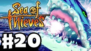 The Hungering One Giant Shark! - Sea of Thieves - Gameplay Part 20