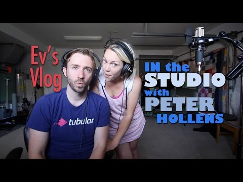 In the Studio with Peter Hollens - Evynne Hollens