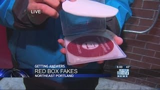 Paper, not DVD, returned to Redbox