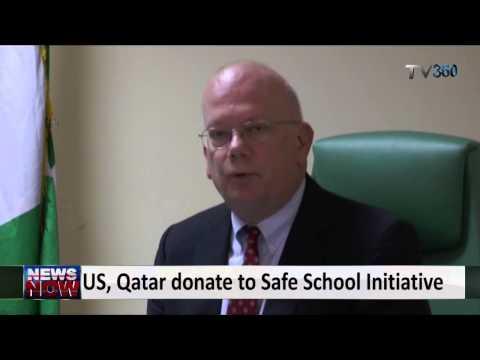 US, Qatar donate to Safe School Initiative