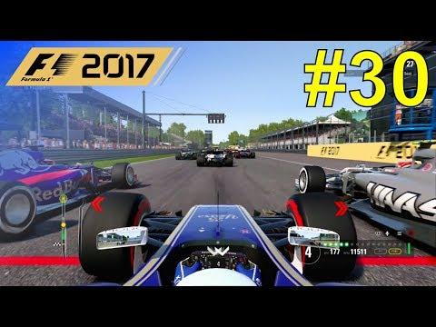 F1 2017 - Giovinazzi Career Mode #30: Italian Grand Prix - 50% Race