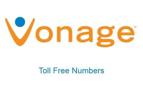 Vonage Toll Free Numbers