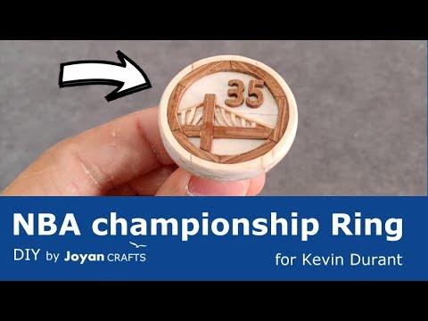 DIY NBA championship ring - for Kevin Durant