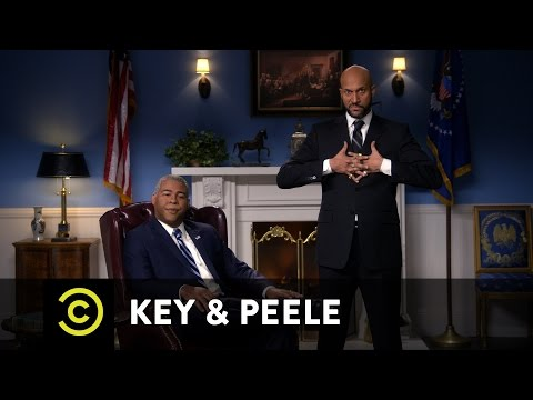 Key & Peele - Obama and Luther's Farewell Address...