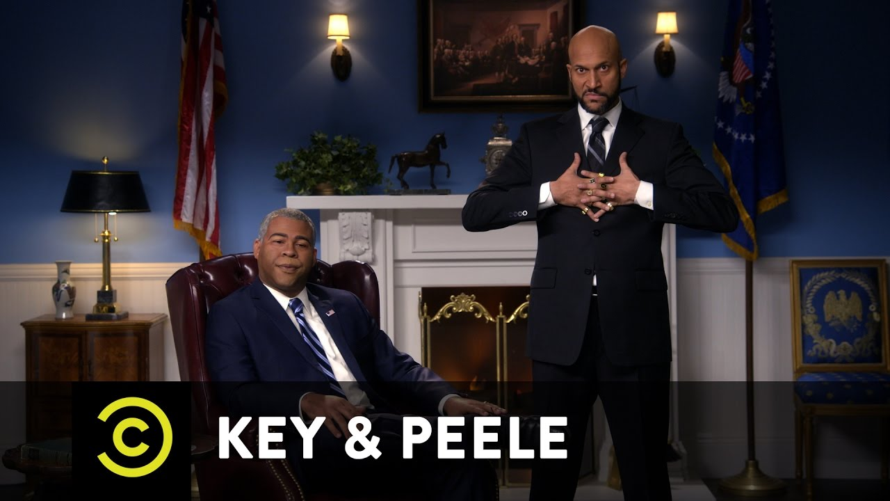 Key & Peele - Obama and Luther's Farewell Address