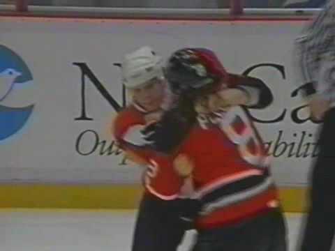 Mike Peluso Vs Shawn Antoski Nov 12, 1995