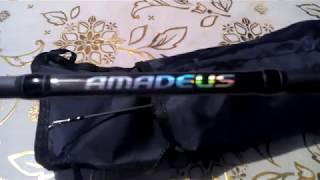 Розпакування, огляд - спінінг AQUA AMADEUS 2.10 m, 10-40g(Лад : швидкий)