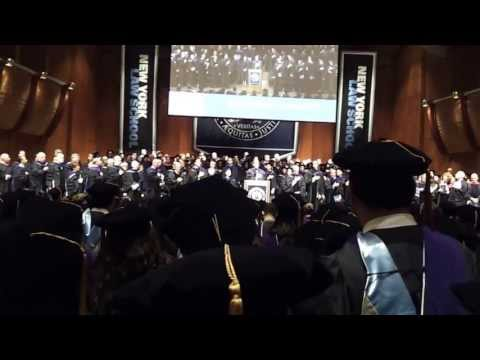 New York Law School 2013 Commencement National Anthem