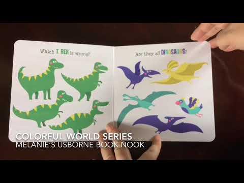 Usborne Books & More Colorful World Series