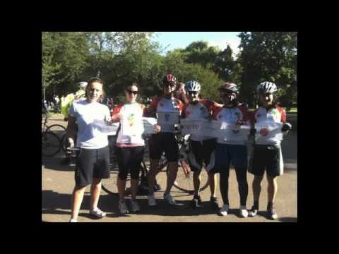 London to Oxford Bike ride in aid of Tackleafrica