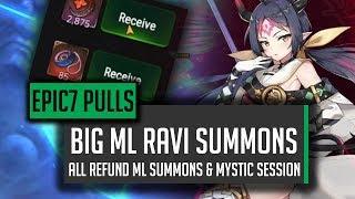 Apocalypse Ravi Summons!  BIG REFUND ML PULLS! - [Epic 7] Epic Seven