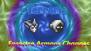 Terraria 1.2.3 Sprectre Armour Changes - New Helmet and Ability