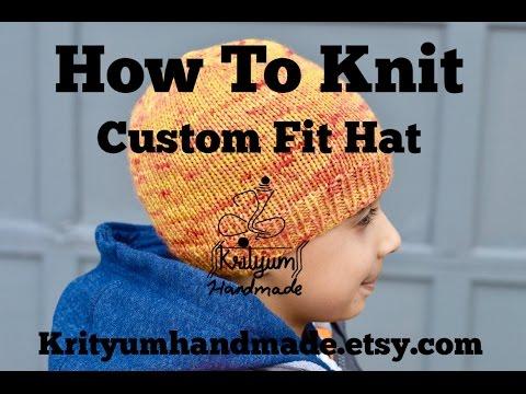 Tutorial #11 – Custom Hand Knit Hat