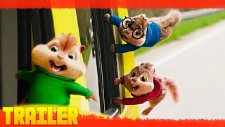 Alvin y las Ardillas: Aventura sobre ruedas (2016) Tráiler Español Lation