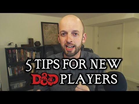 5 Tips for New D&D Players
