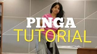 PINGA TUTORIAL# RITU'S DANCE STUDIO# INDIAN DANCE STEPS.