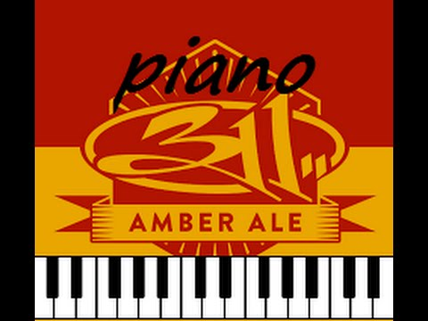 311 Amber Piano Arragement And Keyboard Youtube