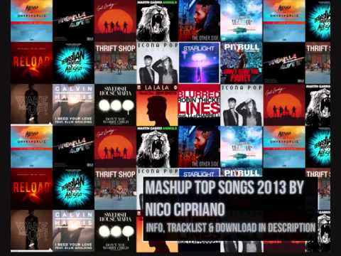 Mega Mashup 2013/2014 - Avicii , Martin Garrix , Icona Pop , Otto Knows , Nico Cipriano , Daft Punk