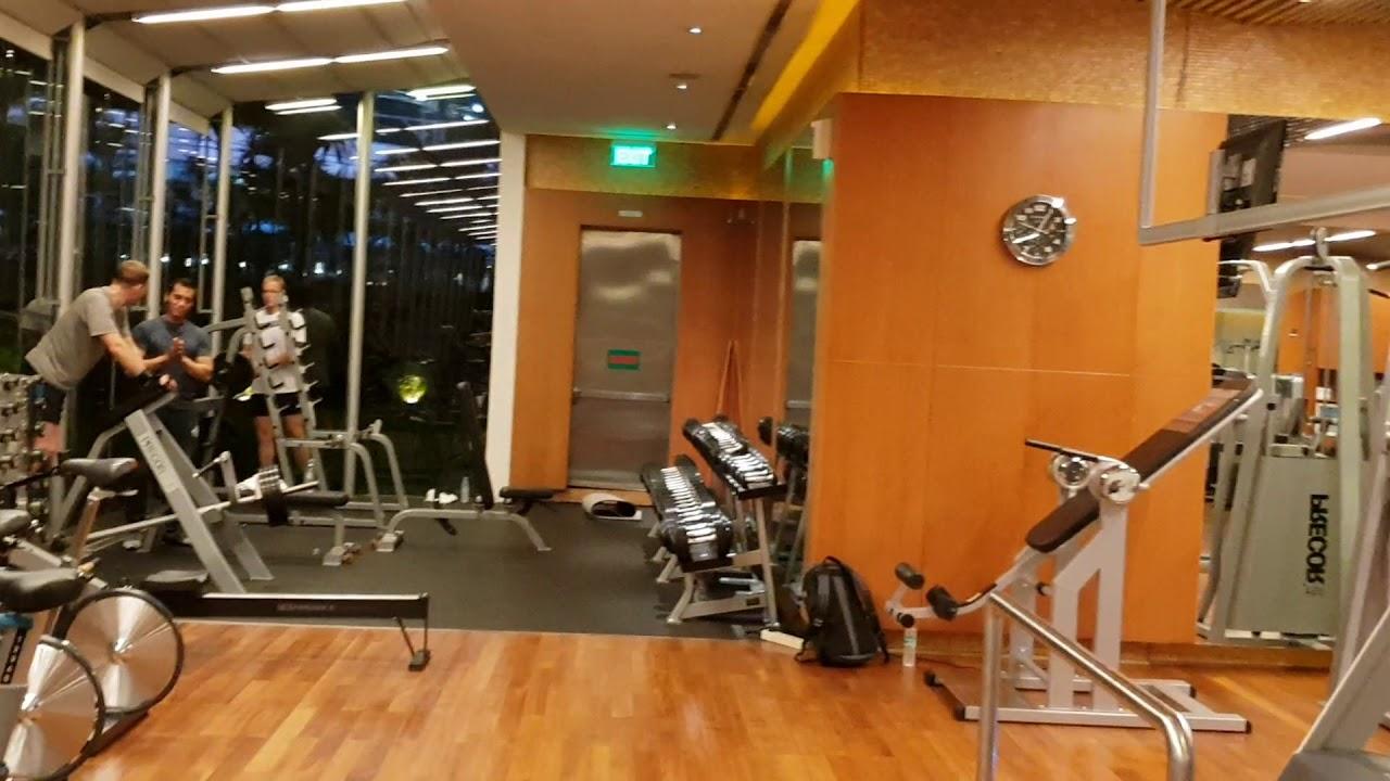 Fitness Center Di Hotel Grand Hyatt Jakarta Indonesia Youtube