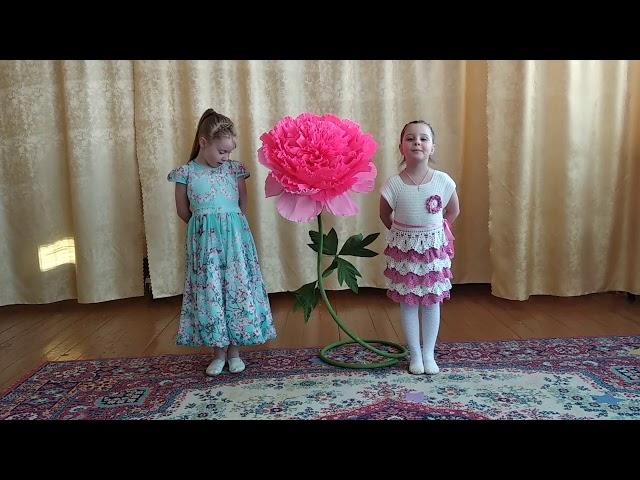 Изображение предпросмотра прочтения – «Алина и Стефания» читает произведение «Дятлы морзянку стучат по стволам...» Э.А.Асадова