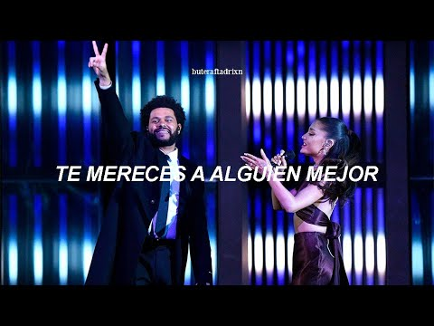 [The Weeknd & Ariana Grande] – Save Your Tears (iheart Radio Music Awards) // Traducción al español