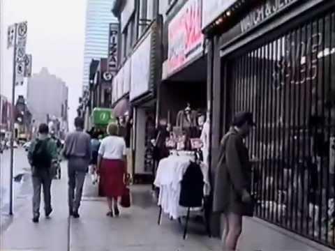 A walk down Yonge Street, Toronto. 8-27-92