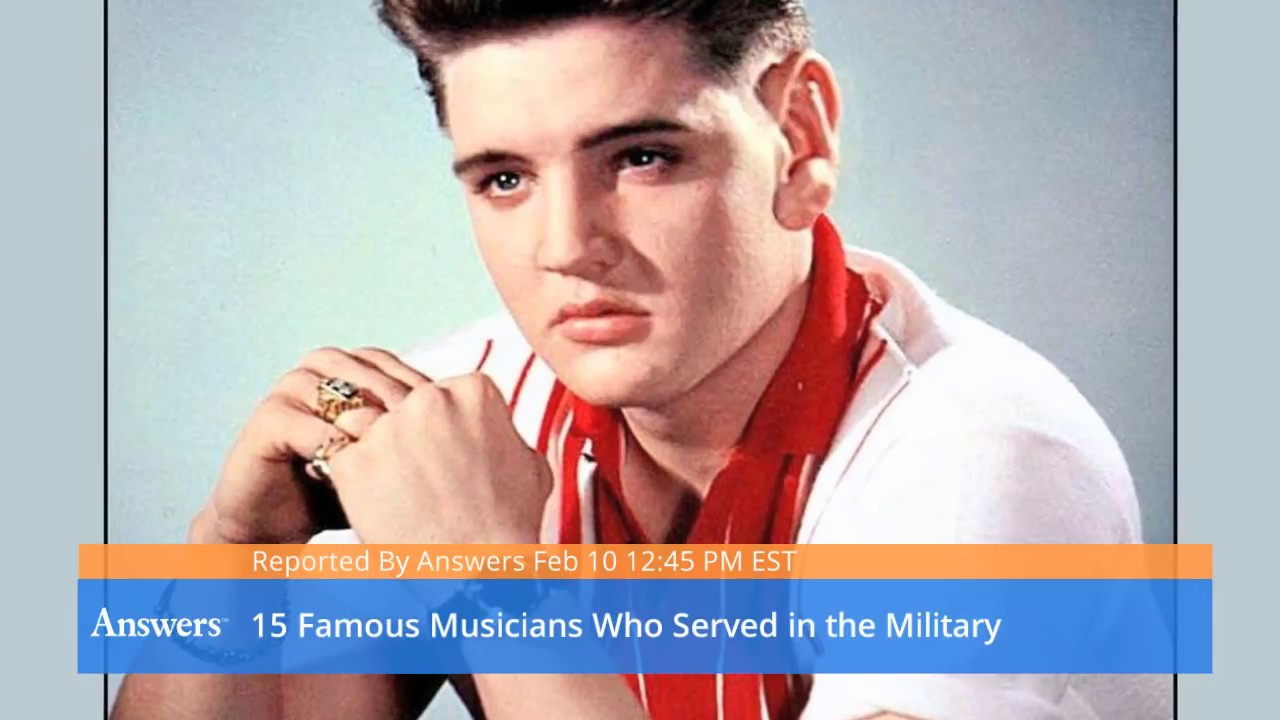 Famous Musicians Who Served In The Military - YouTube
