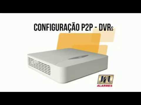 SOS-DUVIDA - CONFIGURAÇÃO P2P DVRs Acesso Nuvem - JFL COMPLETO