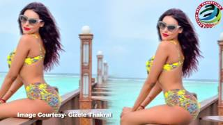 Gizele Thakral SIZZLES in a Bikini   Watch Video