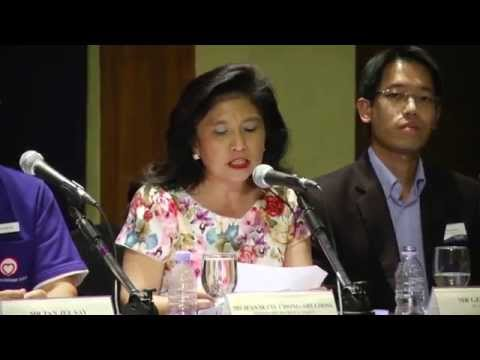 Jeannette Chong-Aruldoss at NUSS GE Political Forum 2015