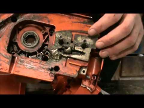 394xp 395xp Husqvarna Crankshaft Removal Case Separation