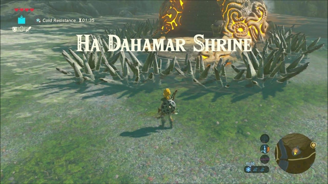 how to get to ha dahamar shrine