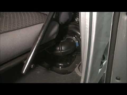 Перенос воздушного фильтра на Буханке