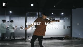 TAE WAN CHOREOGRAPHY CLASS | 50 FEET  -SOMO | 이댄스학원 | 얼반댄스