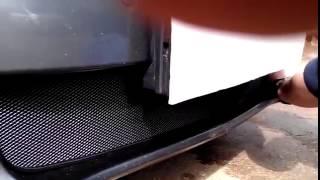 Защитная решетка радиатора Honda Accord 8 инструкция по установке radiator guard tuning grill