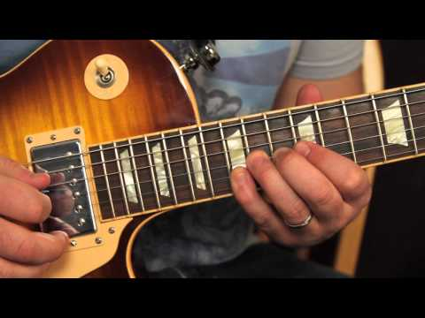 Style of Knocking on Heaven's Door – How to Play Slash's 2nd Guitar Solo Lesson