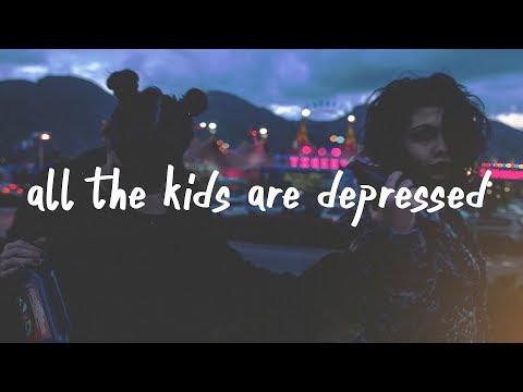 Jeremy Zucker - all the kids are depressed (Lyric Video)