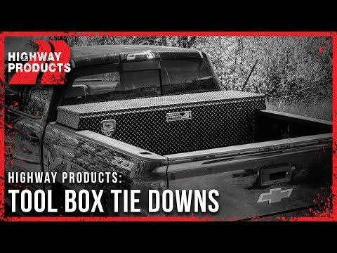 Highway Products | Rope Tie-Downs for Truck Tool Boxes