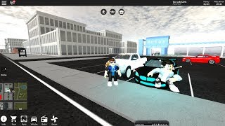 Touring car in the streets of vehicle simulator-Roblox