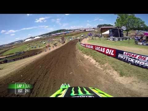 GoPro Adam Cianciarulo Moto 1 – Muddy Creek MX Lucas Oil Pro Motocross Championship 2016