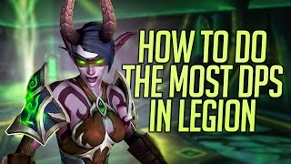 WoW Legion Havoc Demon Hunter DPS guide for Raids and PVE Content!