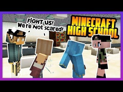 THE BIGGEST SCHOOL FIGHT! - Minecraft High School